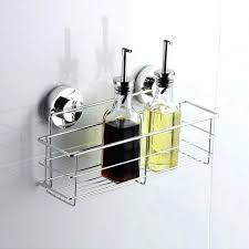 shower caddy that will not rust bath shower suction bathroom organize tidy basket non rust stainless