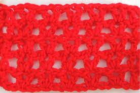 V Stitch Crochet Pattern Simple How To Crochet Classic DC VStitch Plus 48 Variations Red Heart