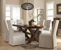 lovable white slip cover for dining room chairs design with elegant shape and model and crossed
