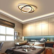 china round modern led bedroom ceiling