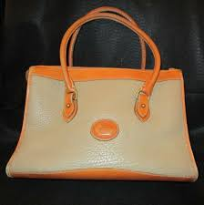 dooney bourke all weather pebble leather satchel bag handbag