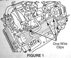 tsb 18 48 98 route the coil wire starting from the ignition coil and working toward the distributor any excess wire should end up at the distributor end