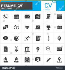 Modern Resume Icon Resume Contact Icons Resume Contact Icons Vector Images 47 Free