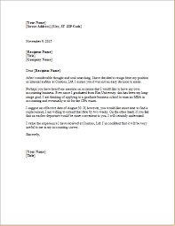 Resignation Letter Template Microsoft Word Ms Word Formal ...
