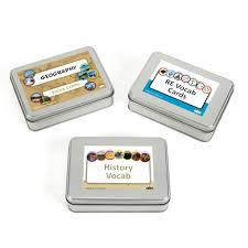 vocab cards with pictures buy humanities vocab activity cards tin set tts