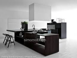 modern black white. fine black desain interior dapur minimalis modern black and white for modern black white
