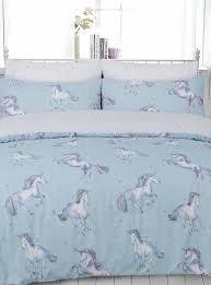 unicorn double duvet set