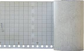 Strip Recorder Chart Paper For Rustrak 288 10 Division 6