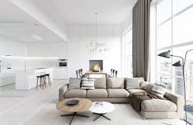 Modern For Living Room Spacious Modern Living Room Interiors