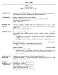 resume examples font size   example good resume templateresume examples font size