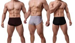 Banana Split Size Chart Banana Bucket Mens Split Side Sexy Breathable Boxer Underwear