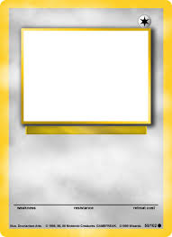 card maker template pokemon card maker app