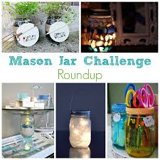 Crafts With Mason Jars Mason Jar Crafts Challenge Roundup 14 Creative Ideas