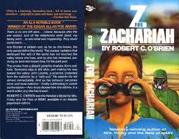 z for zachariah robert c o brien cover