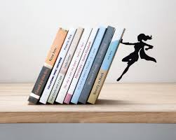 Accessories: Cool Magnetic Bookends - Housewarming Gifts