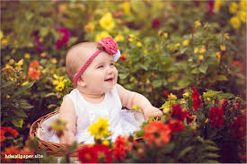 hd wallpapers for pc cute baby lovely lovely nature wallpaper with baby hdwallpaper
