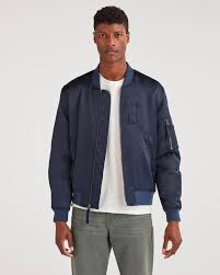 class a er jacket in midnight navy