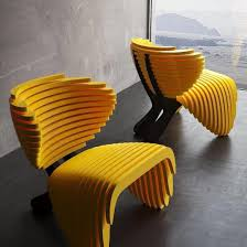 Design Lover Yellow Seating By Parametric Arch