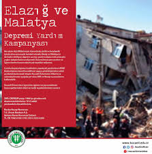 ELAZIĞ ve MALATYA Depremi Yardım... - Kocaeli Üniversitesi