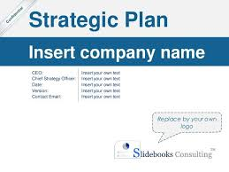 Microsoft Corporate Strategy Simple Strategic Plan Template By Ex Mckinsey Consultants