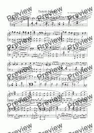 Baby shark piano sheet music pdf. Turkish March Jazz Version Download Sheet Music Pdf File