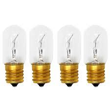 Whirlpool Refrigerator Parts Light Bulb Replacement Amazon Com 4 Pack Replacement Light Bulb For Whirlpool