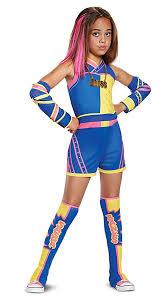 Amazoncom Sasha Banks Deluxe Wwe Costume Multicolor Medium 7 8