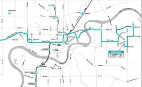 maps, routes, schedules and service city of edmonton Maps Edmonton route brochures & maps maps edmonton alberta canada