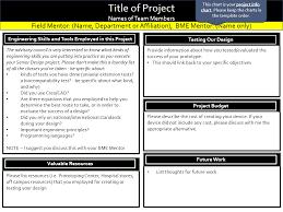 Quad Chart Template Quad Chart Info Bme Senior Design 2013 14 Uiowa Wiki