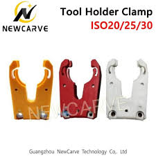 NEWCARVE ISO30 Tool Holder Clamp Flame Proof Rubber Tool ...