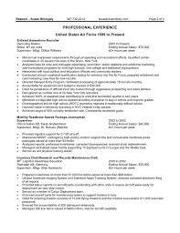 Sample Federal Resume Michael Resume