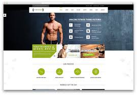 fitness zone healthy lifestyle template