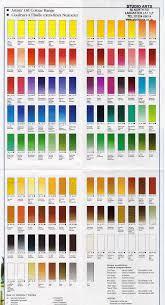 Artist Oil Colour Chart At Online Discounts Paint Color