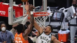 Game 4 of Bucks-Suns NBA Finals ...