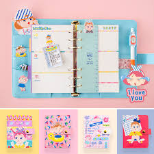 Us 14 41 50 Off A6 A7 Notebook 2019 Agenda Planner Organizer Fichario Note Book Dividers Pu Leather Spiral Weekly Personal Travel Diary Journal In