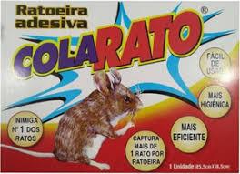 Também estão à venda armadilhas de cola prontas, que são bastante. Ratoeira Adesiva Cola Rato Peixinho Dourado Agropet