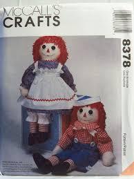 Raggedy Ann Doll Pattern
