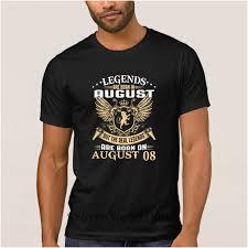 La Maxpa Custom Logo Legends Are Born On August 08 Fun T