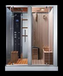 ADS 180 Steam Shower Sauna Combination - Sauna Shower Combination