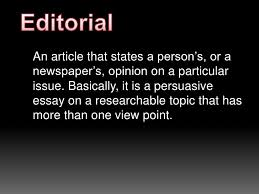 editorial writing elementary editorial<br