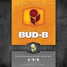 Heavy 16 Nutrient Chart Heavy 16 Bud Part B 2 5 Gallon