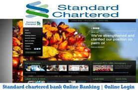 Standard Chartered Bank Online Banking Online Login