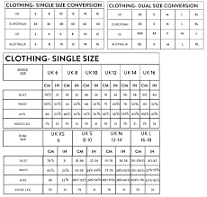 Size Guide Naanaa Womens Wholesale Fashion Clothing