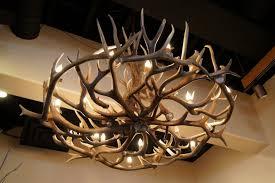 glamorous faux deer antler chandelier 13 33 vintage style resin horn 9 lights bulbs included mule