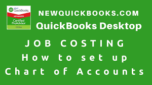 1 Quickbooks Job Costing How To Set Up Chart Of Accounts