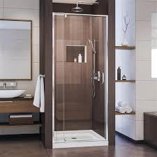 dreamline flex pivot shower door 36