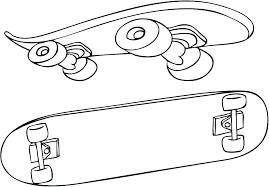 skateboard coloring pages skateboard skateboard ramp coloring pages