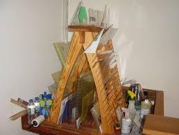 15 best Quilt Ruler Storage images on Pinterest | Craft rooms ... & A-frame Quilting Ruler Holder Adamdwight.com