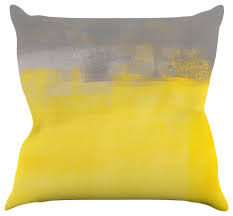 Image Velvet Redbubble Yellow Decorative Pillows
