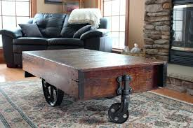 antique warehouse cart coffee table full size of industrial factory hardware old vintage antique warehouse cart coffee
